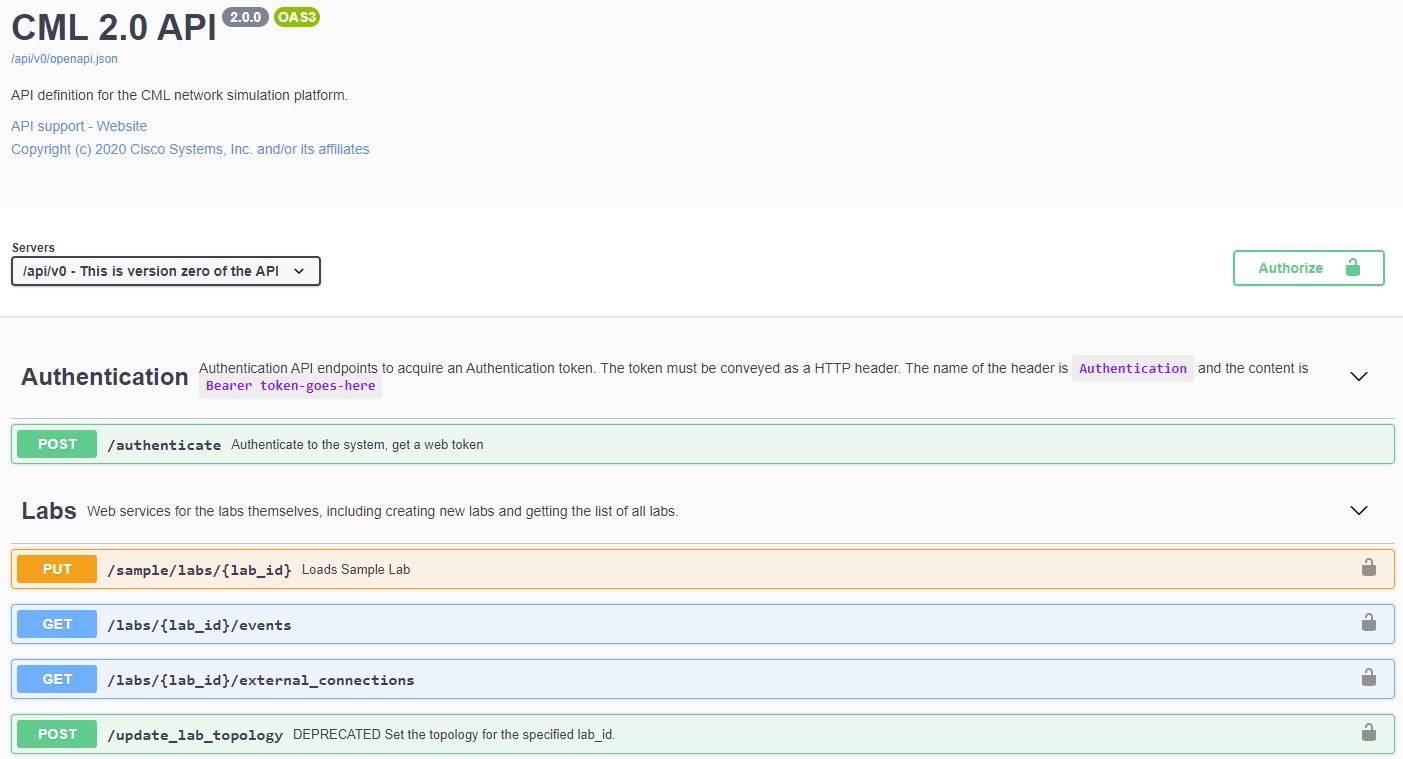 Dokumentacja API CML 2.0