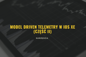 Konfiguracja telemetrii w IOS XE